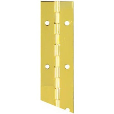 Image of 1.5 x 12-In. Brass Continuous Hinge