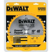 10-Inch 40-TPI Table Saw Blade