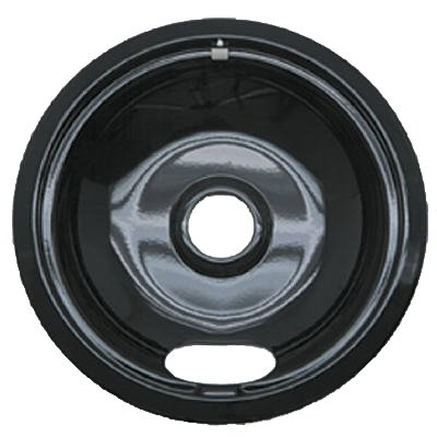 "Image of Electric Range Drip Pan, ""A"" Series Plug-In Element, Non-Stick Porcelain, 6-In."