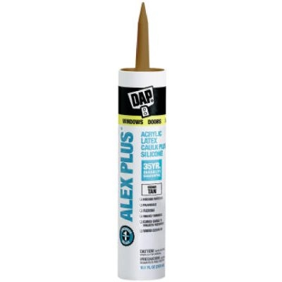 Image of 10.1-oz. Alex Plus Cedar Tan Acrylic Latex Caulk
