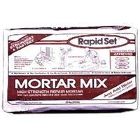 Rapid Set Mortar, Fast-Setting, 55-Lb. Bag
