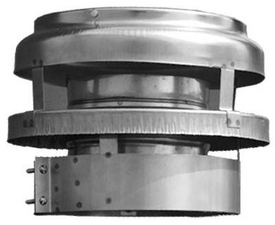 Image of All Fuel Chimney Termination Cap, 6-In.