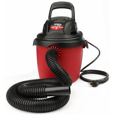 Portable Wet-Dry Vacuum, 2 Peak HP, 2.5-Gal.