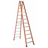 12-Ft. Heavy Duty Step Ladder, Fiberglass, Type IAA, 375-Lb. Duty Rating