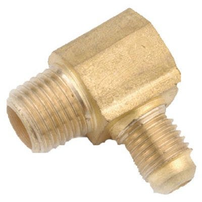 Brass Flare Elbow, Lead-Free, 5/8 x 3/4-In. MPT