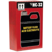 Dry Charge Battery Acid, 6-Qt.