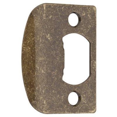 Image of Antique Brass Standard Strike Plate