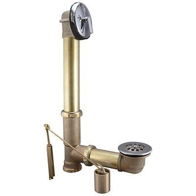 Trip Lever Bath Drain Assembly, Brass