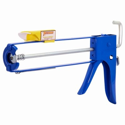 Image of Caulking Gun, Provides Perfect Bead, Smooth Rod, EZ-Load Front, 10:1 Thrust Ratio