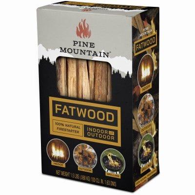Fatwood Fireplace Firestarter Kindling, 1.5-Lb.