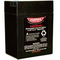 Battery For Parmak Solar Fence Charger, 6-Volt