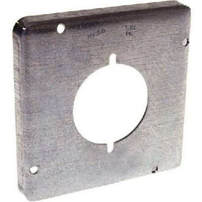 Image of 4-11/16-Inch Single Receptacle Box Cover