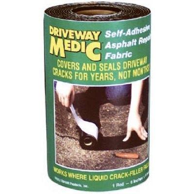 Image of Adhesive Asphalt/Blacktop Repair Fabric, 6-In. x 9-Ft.