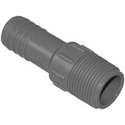 Poly Male Pipe Thread Insert Adapter, 1/2-In.