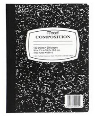 Image of Composition Book, 9.75 x 7.5-In., 100-Ct.