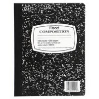 Composition Book, 9.75 x 7.5-In., 100-Ct.