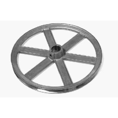 Image of Evaporated Cooler Blower Pulley, Zinc, 10 x 1-In.