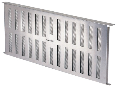 Image of Aluminum Foundation Vent With Slider, 16-15/16 x 8-In.