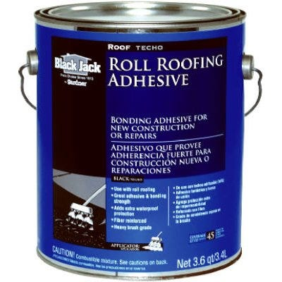 Roll Roofing Adhesive, 3.6-Qt.