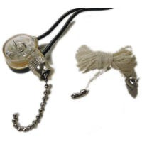 Pull Chain Switch, Brass Plated