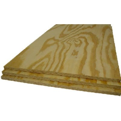 Pine Plywood Panel, BC Grade, 3/8 (11/32)-In. x 2 x 4-Ft.