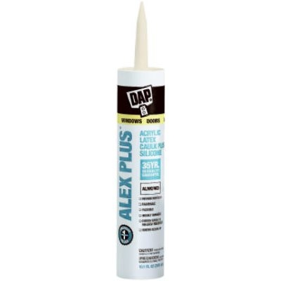 Image of 10.1-oz. Alex Plus Almond Acrylic Latex Caulk