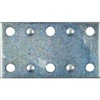 4-Pk., 2.5 x 1-3/8-In. Zinc Mending Plate