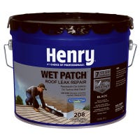 208 Wet Patch Roof Cement, 3.5-Gallon
