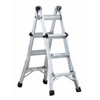 Multi-Purpose Ladder, Aluminum, Type IA, 300-Lb. Duty Rating. 13-Ft.