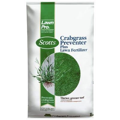 Lawn Pro Crabgrass Preventer Plus Lawn Fertilizer, NPK 26-0-3, 14.84-Lbs. Covers 5,000 Sq. Ft.