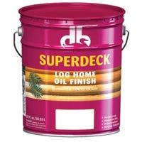 Log Home Oil Finish, Golden Honey, 5-Gallons