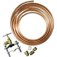 Copper Ice Maker Kit, .25-In. x 25-Ft.