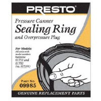 Pressure Canner Sealing Ring With Automatic Air Vent