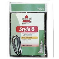 Style 8 Lift-Off Bagless Upright Vacuum Cleaner Belt, 2-Pack