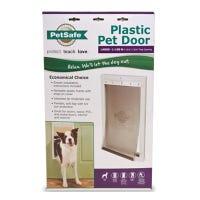 Pet Door, White Plastic, Large