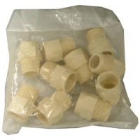 CPVC Pressure MIP Adapter, Hot or Cold, 3/4-In., 10-Pk.