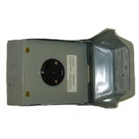 Outdoor Receptacle Enclosure, Surface Mount, 30A 120V