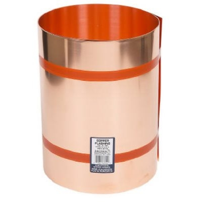 Image of Copper Flashing, 20-In. x 10-Ft., 16-oz.