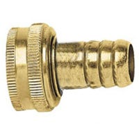 Hose Stem Replacement, 3/4-In. Female, Brass