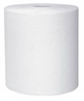 Image of Hard-Roll Towels, White, 8-In. x 600-Ft., 6-Pk.