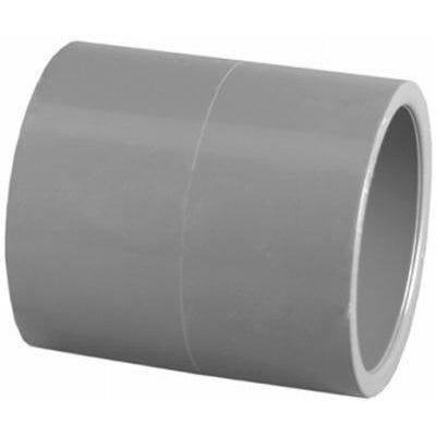 Schedule 80 PVC Slip x Slip Coupling, 1-1/4-In.