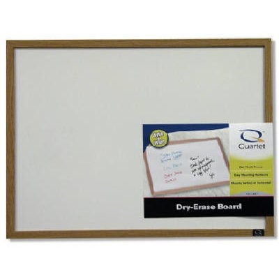 Image of Dry Erase Board with Wood Frame, 23 x 35-In.
