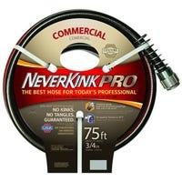 Commercial-Duty NeverKink Garden Hose, 3/4-In. x 75-Ft.