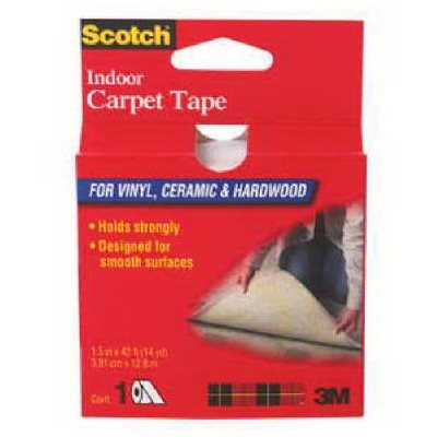 Image of 1-1/2 Inch x 42-Ft. Indoor Carpet Tape