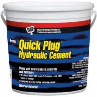 Quick Plug Hydraulic Cement, 10-Lb.