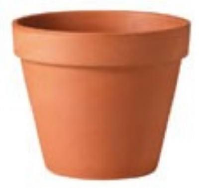 Image of Terra Cotta Clay Pot, 14-In.