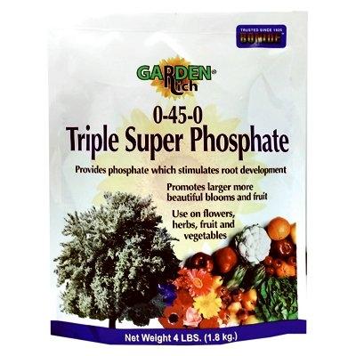 Image of Triple Super Phosphate Fertilizer, 0-45-0, 4-Lb.