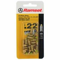 Yellow Powder Fastener Loads, .22 Caliber, 25-Ct.
