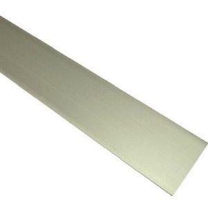 Flat Aluminum Bar, Mill Finish, 1/16 x 1 x 96-In.