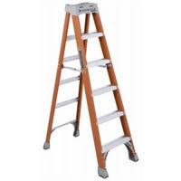 6-Ft. Step Ladder, Fiberglass, Type IA, 300-Lb. Duty